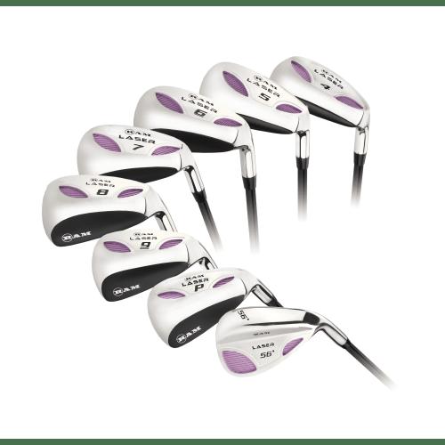 Ram Golf Laser Hybrid Irons Set 4-SW (8 Clubs) - Ladies Right Hand