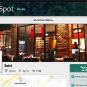 SaveSpot - A startup for Restaurant Reservations with 30% off. I was the CTO. Rails Project.