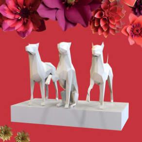 Lunar New Year | Year of the Dog Installation