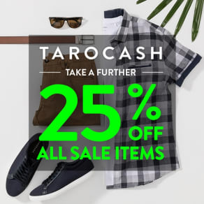 Further 25% Off All Sale Items*