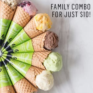 Family Combo for just $10!