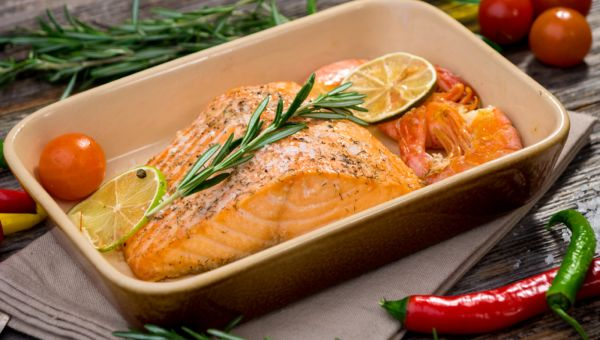 Serve Up Fatty Fish for Skin Protection