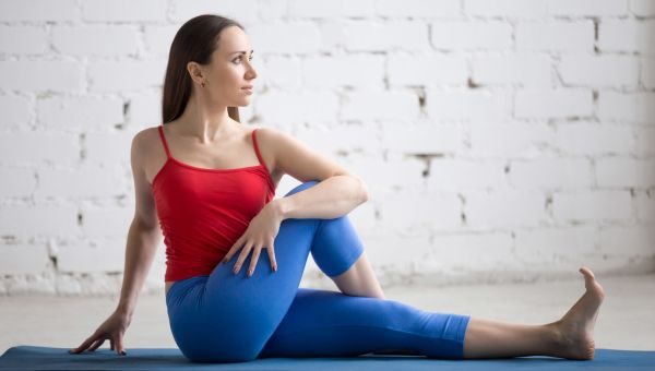 20. Seated Spinal Twist