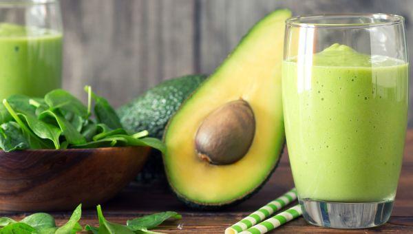 Potassium-Rich Avocado Smoothie
