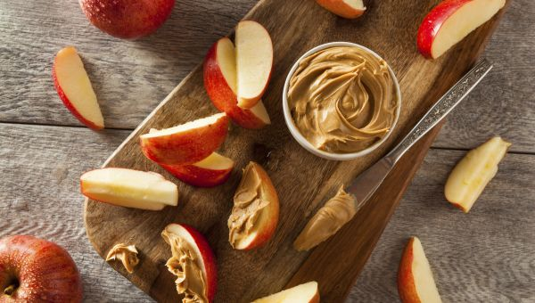 Apple or celery with nut butter