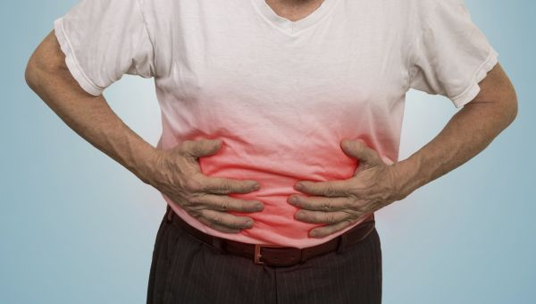 Surgery to fix a peptic ulcer