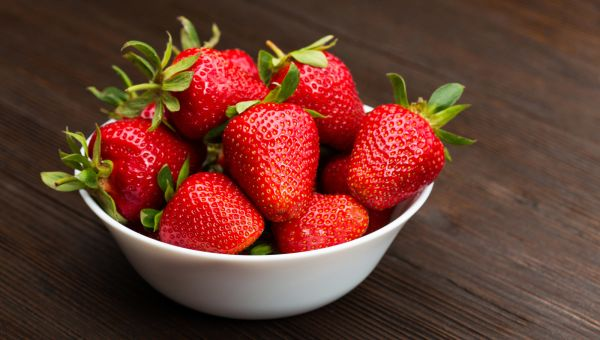 3. Strawberries