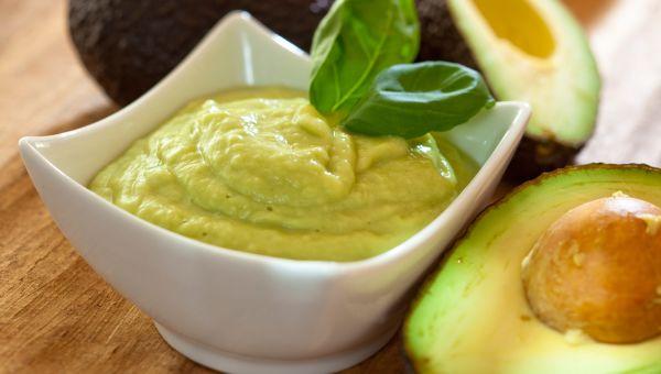 Split pea guacamole