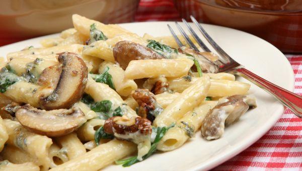 Mushroom Rigatoni
