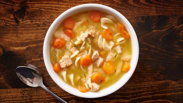 23. Chicken noodle soup