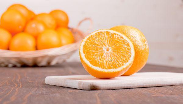 29. An orange
