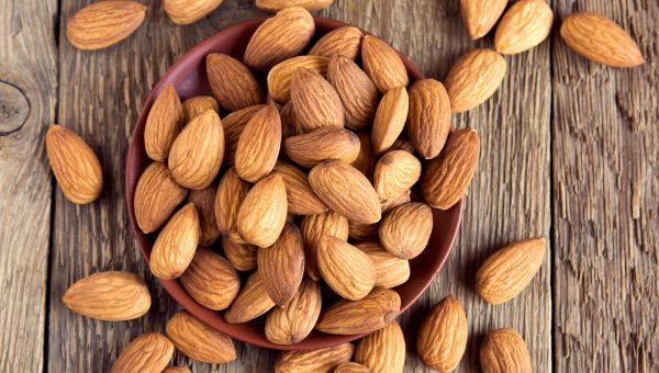 33. Almonds