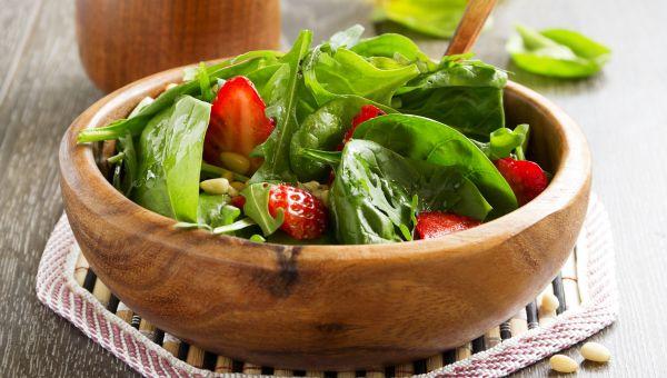 59. Strawberry salad