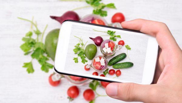 Keep a visual food journal