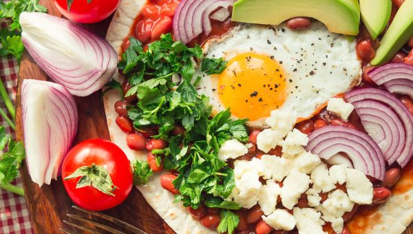 Breakfast: Hearty Huevos Rancheros