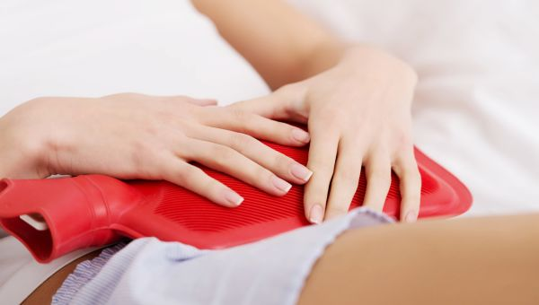 Symptom #3: you're hunched over from pain and cramps