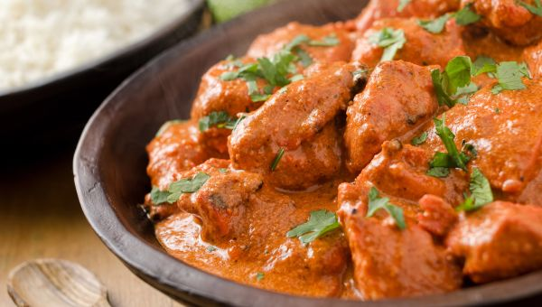 Don't eat super spicy foods or a meal high in fat