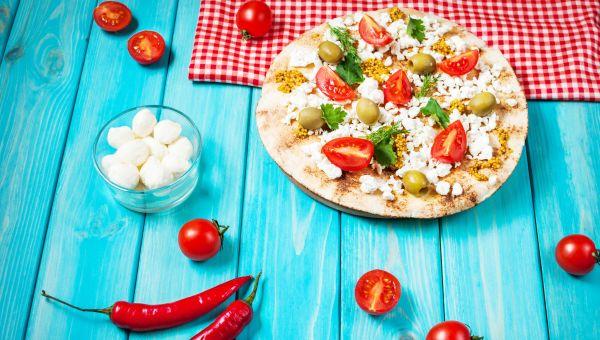 Pita Pocket Pizza