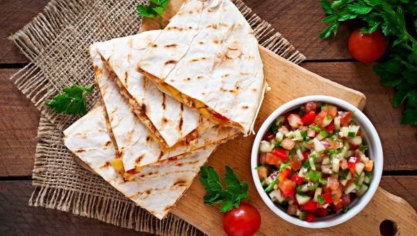 Guilt-Free Grilled Quesadilla