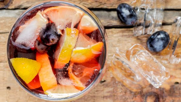 Concord Grape Virgin Sangria