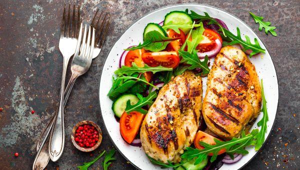Eat plenty of protein