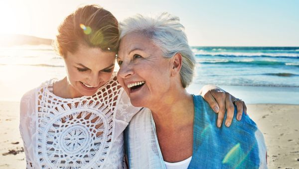 Myth: if your mom doesn't have wrinkles, you won't either