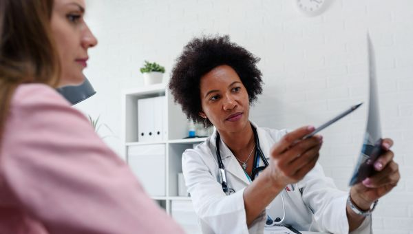 MYTH: Physical breast exams are just as good as mammograms
