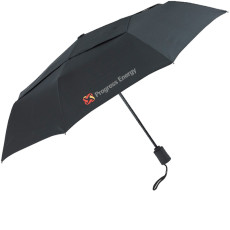 "Printable Vented Executive 43"" Arc Mini Fold Umbrella"
