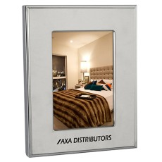 "4"" x 6"" Polished Nickel Plated Photo Frame"