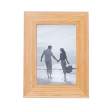 "Bamboo Picture Frame for 4"" X 6"" Photo"