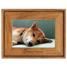 Faux Wood Picture Frame