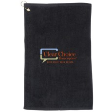 Golf Towel with Grommet and 16 x 25 Hook