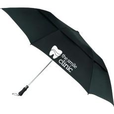 "55"" Vented Auto Open Folding Golf Umbrella"