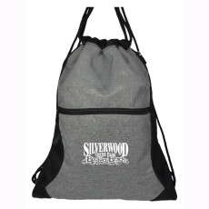 Trilogy Two-Tone Drawstring Bag