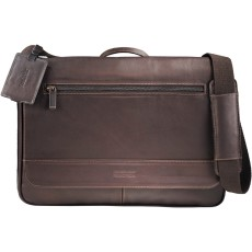 Kenneth Cole Colombian Leather Computer Messenger Bag