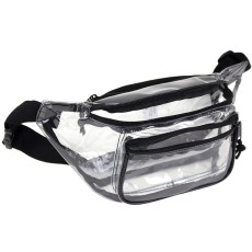 Clear 3 Pockets Fanny Pack