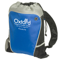 Custom Hiker's Two-Tone Drawstring Backpack
