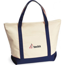 Custom Printed Harbor Cruise Boat Tote