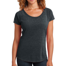District Made Ladies Tri-Blend Scoop Tee