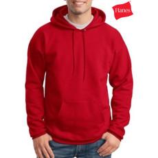 Custom Logo Hanes Hooded Sweatshirt