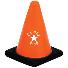 Imprinted Construction Cone Stress Reliever