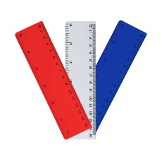 "Imprinted Plastic 6"" Ruler"