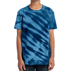 Port & Company - Youth Essential Tiger Stripe Tie-Dye Tee
