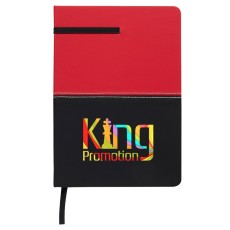 """5"""" x 7"""" Two-Tone Leatherette Journal"""