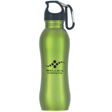 Personalized 25 Oz. Stainless Steel Grip Bottle
