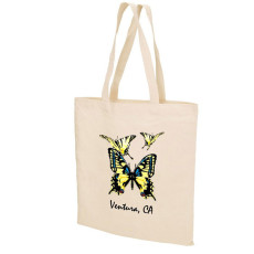 Printed Natural Cotton Tote Bag