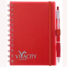 Printed Spiral Bound Pocket Notebook
