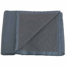 Promotional Reversible Fleece/Nylon Blanket