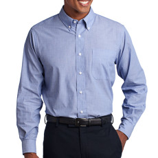 Port Authority Crosshatch Easy Care Shirt (Apparel)