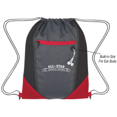 Two-Tone Drawstring Sports Pack
